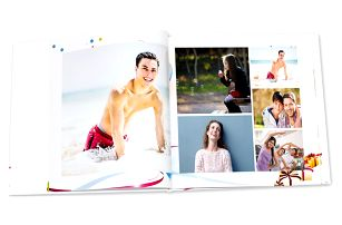 Luxusní fotokniha z vašich fotografií v sešitové nebo měkké vazbě - 2 formáty, 24-80 stran