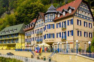 Hotel Praha**** v Českém Švýcarsku s neomezenou konzumací vína