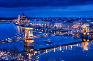 Až 4 dny v romantické Budapešti se snídaní