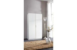 Sprint - skříň 175x90 cm,2x dveře (alpská bílá)