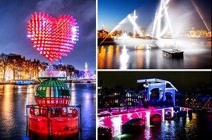 Rozzářený vánoční Amsterdam s ubytováním a světelnou show - 4 denní zájezd