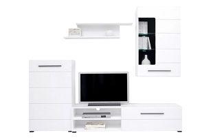 Obývací stěna Lena+ LED, Doprava zdarma