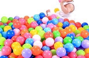 Plastové míčky do bazénku 7cm - 100ks