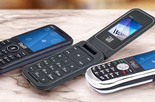 Levné tlačítkové mobilní telefony Pelitt