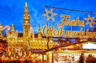 Vídeň s vánočními trhy, prohlídkou a možností nákupů v Primarku