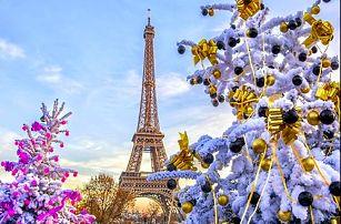 Kouzelná Paříž a zámek Versailles ve vánočním období - 4 denní zájezd s ubytováním