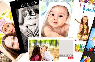 Kalendáře 2018 z vašich fotografií s možností osobního odběru v Plzni zdarma