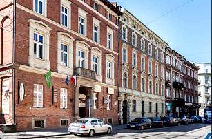 Pobyt pro dva v centru Krakova v hotelu Maksymilian***