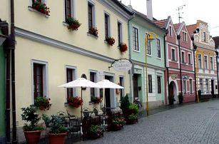 Relaxační pobyt v Třeboni ve 4*hotelu Galerie, lahev vína + hodina v lázních, pohodlné pokoje.