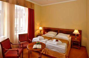 Last Minute v Hotelu Continental**** v Mariánských Lázních s wellness a procedurami