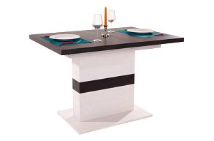 Výsuvný stůl provence mdt 120 az, 120-160/76/80 cm