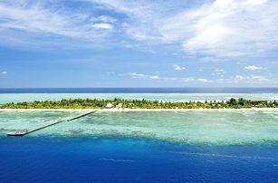 Maledivy, Jižní Atol Male, letecky na 10 dní plná penze