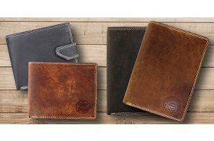 Pánské peněženky z pravé kůže značky Vera Pelle