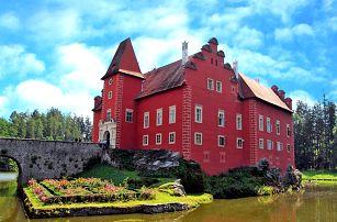 Jižní Čechy romanticky: stylový 3* hotel, privátní wellness a polopenze s večeří při svíčkách