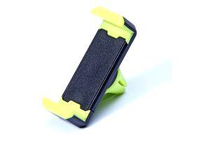Praktický držák telefonu do auta nebo GPS, s rotací 360°, univerzální rozměr, barevné motivy.