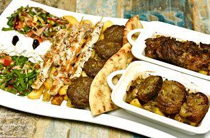 Masová hostina v řeckém stylu pro 2 až 4 osoby