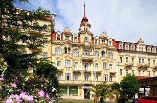 Mariánské Lázně - wellness pobyt pro dva v Hotelu Fontána***, s polopenzí a spoustou procedur.