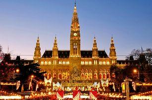 Předvánoční Vídeň: zájezd na známé adventní trhy i k vídeňským památkám pro JEDNOHO