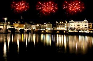 Silvestrovský výlet do Švýcarska na Rýnské vodopády a Basilej