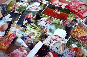 Tisk fotografií v sadě, na výběr více formátů