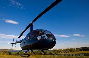 Soukromý let vrtulníkem Brno