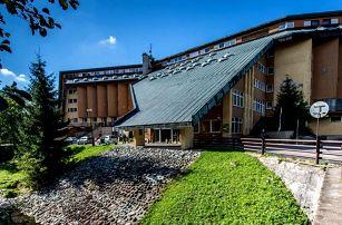 Last Minute v Hotelu Fit Fun *** v Harrachově s polopenzí, saunou a bazénem