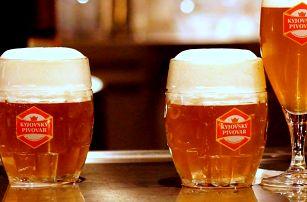 Kyjovský pivovar s polopenzí i neomezenou konzumací piva