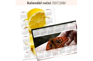 Kalendář z vlastních fotografií: roční A3 nebo měsíční A4