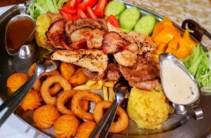 Rudolfovo plato - delikátní výzva pro dva v Golemově restaurantu