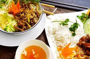 Vietnamské rýžové nudle s masem pro 1 či 2
