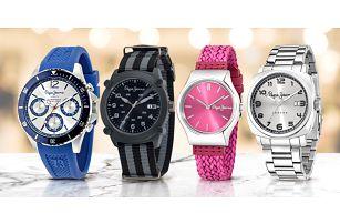 Dámské i pánské analogové hodinky Pepe Jeans