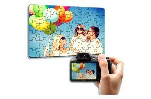 Puzzle z vlastních fotografií, formát A3, A4 nebo srdce