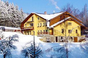 3–6denní pobyt pro 2 i pro rodinu v penzionu Krásná v Jizerských horách