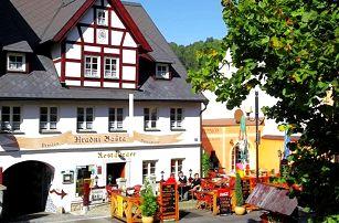 3denní pobyt pro 2 s gurmánskou večeří v penzionu Hradní Bašta v Bečově nad Teplou