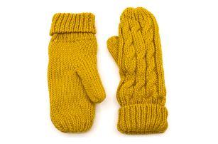 Fashion Icon Dámské zimní rukavice pletené teplé