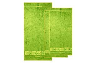 4Home Sada Bamboo Premium osuška a ručník zelená, 70 x 140 cm, 2x 50 x 100 cm