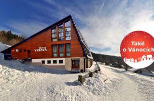 Hotel Vltava - Vánoce a zima v Krkonoších s polopenzí a 2 dětmi zdarma