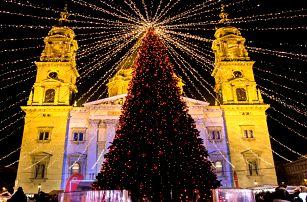 O víkendu do adventní Budapešti na 1 noc