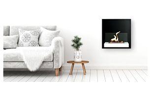 Krb místo obrazu: hypnotické biokrby na stěnu