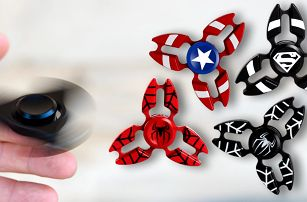 Fidget spinner: hračka i pomůcka proti stresu