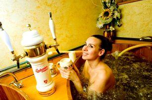 Hotel s pivní lázní