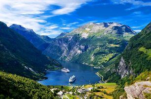 Norsko včetně Osla: doprava, ubytování, snídaně