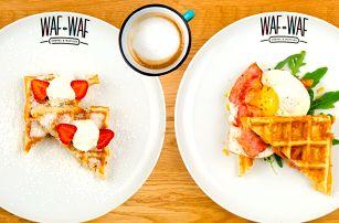 Snídaně pro dobrou náladu ve Waf-Waf na Letné