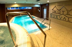 Zima v Hotelu Hukvaldy s polopenzí a wellness