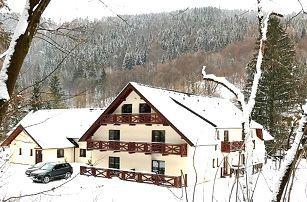 3–6denní zimní wellness pobyt pro 2 v penzionu Bystrinka v Nízkých Tatrách