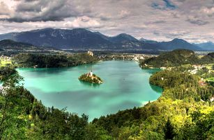 Jedinečný hotel ve Slovinsku u jezera Bled s wellness
