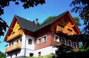 Krkonoše - Benecko, 4-5 dní až pro 9 osob v útulné chalupě