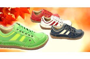 Kvalitní dámské kožené boty