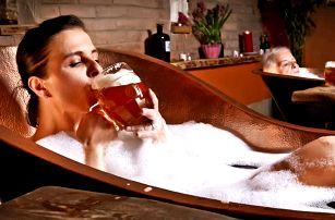 Pivní doktorát nebo procedury v pivních lázních