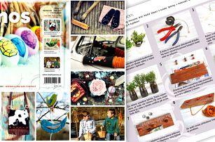 Roční předplatné časopisu Amos - originální tipy pro tvoření s dětmi